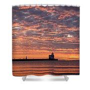 Dawn Highlights Shower Curtain