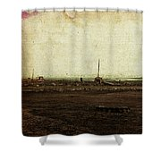Dawn On The Lake Shower Curtain