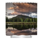 Dawn On The Snake River Shower Curtain