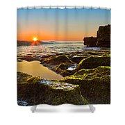 Dawn Pool Shower Curtain