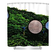 Day Lights Shower Curtain