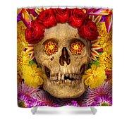 Day Of The Dead - Dia De Los Muertos Shower Curtain