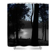 Day Or Night Shower Curtain