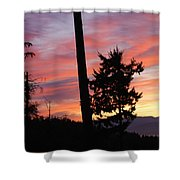 Daybreak On The Island Shower Curtain
