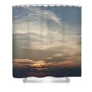 Daylight Approaches Shower Curtain