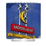 Daylight At The Moonlight Shower Curtain