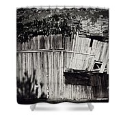 Days Gone By Bw Shower Curtain