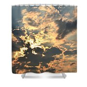 Dazzling Sunset Shower Curtain