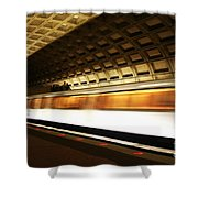 Dc Metro Shower Curtain by Heather Applegate
