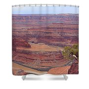 Dead Horse Point State Park Shower Curtain