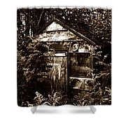 Dead Shed  Shower Curtain