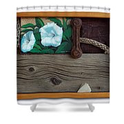 Deadly Nightshade Shower Curtain