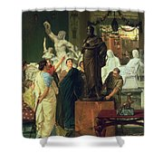Dealer In Statues  Shower Curtain