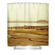 Death Of Poetry Shower Curtain