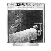 Death Of Ulysses S. Grant Shower Curtain