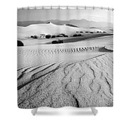 Death Valley Dunes 11 Shower Curtain by Bob Christopher