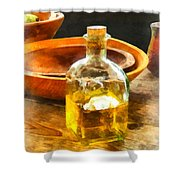 Decanter Of Oil Shower Curtain