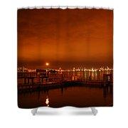 December Daybreak Shower Curtain