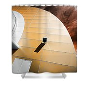 Deckchair In Space Shower Curtain