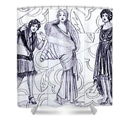 Deco Fashions Shower Curtain