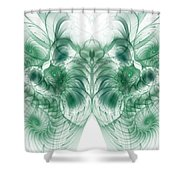Deep Exploration Shower Curtain