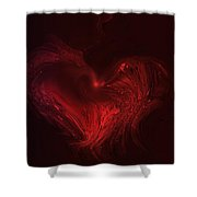 Deep Hearted Shower Curtain