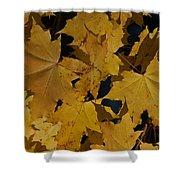Deep Leaves Shower Curtain