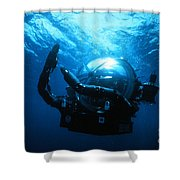 Deep Rover Shower Curtain