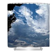Deep Skies Shower Curtain