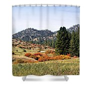 Deerborn Fall Shower Curtain