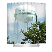 Deerfield Beach Tower Shower Curtain