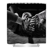 Defeated No. 2 Shower Curtain