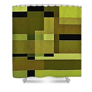 Defiance Shower Curtain by Ely Arsha