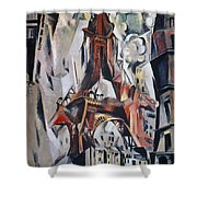 Delaunay: Eiffel Tower, 1910 Shower Curtain