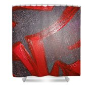 Deliberate Devious Delivery Shower Curtain