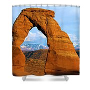 Delicate Arch Closeup Shower Curtain