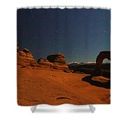 Delicate Moonlight Shower Curtain