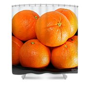 Delicious Cara Cara Oranges Shower Curtain