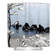 Delightful Spring Shower Curtain