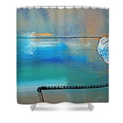 Delivery Note Shower Curtain