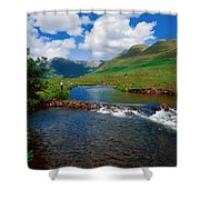 Delphi Fishery, Co Mayo, Ireland Shower Curtain