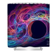 Delphinus Shower Curtain