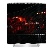 Demon Band Shower Curtain