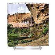 Demon Canyon Shower Curtain