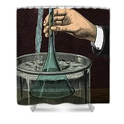 Demonstration Of Vacuum Shower Curtain