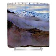 Denali Dawn II Shower Curtain