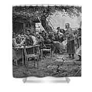 Denmark: Fishermen, 1901 Shower Curtain
