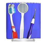 Dental Equipment Shower Curtain