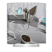 Dental Tollietres Shower Curtain