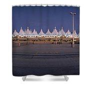 Denver International Airport, Colorado Shower Curtain